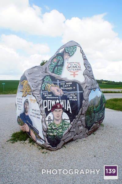 A Rock Painted to Look Like a Rock