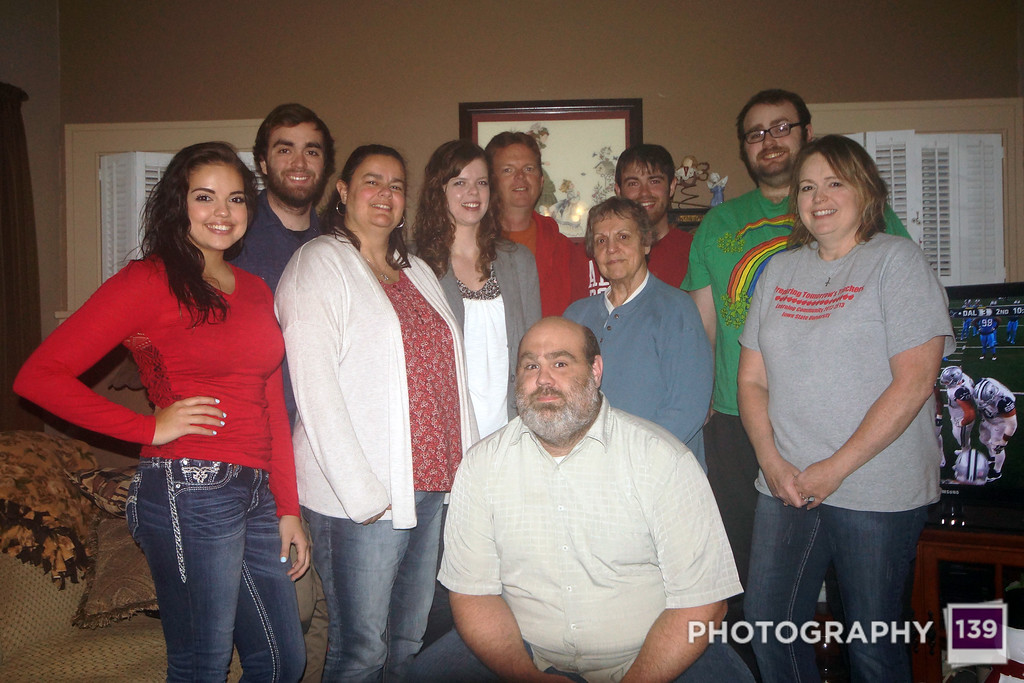 Bennetts at 2015 Thanksgiving