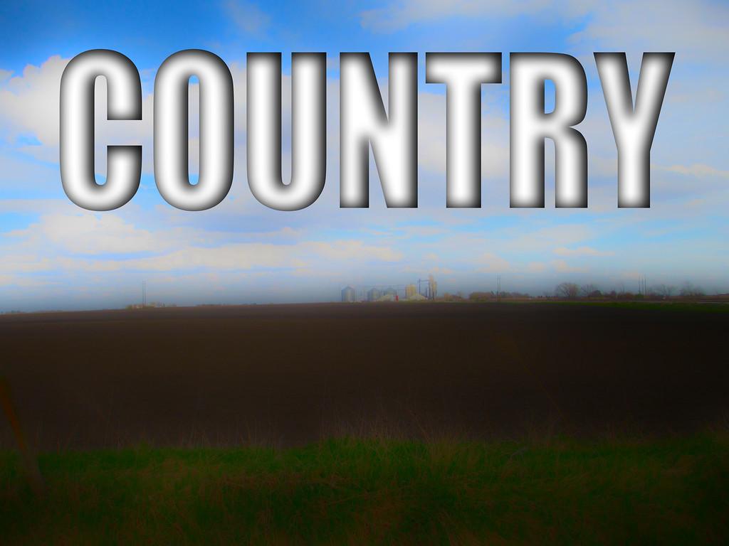 WEEK 32 - COUNTRY