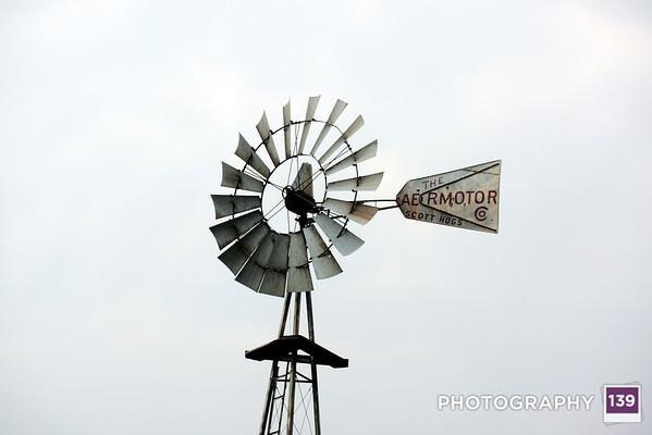 Windmill at the Iowa State Fair