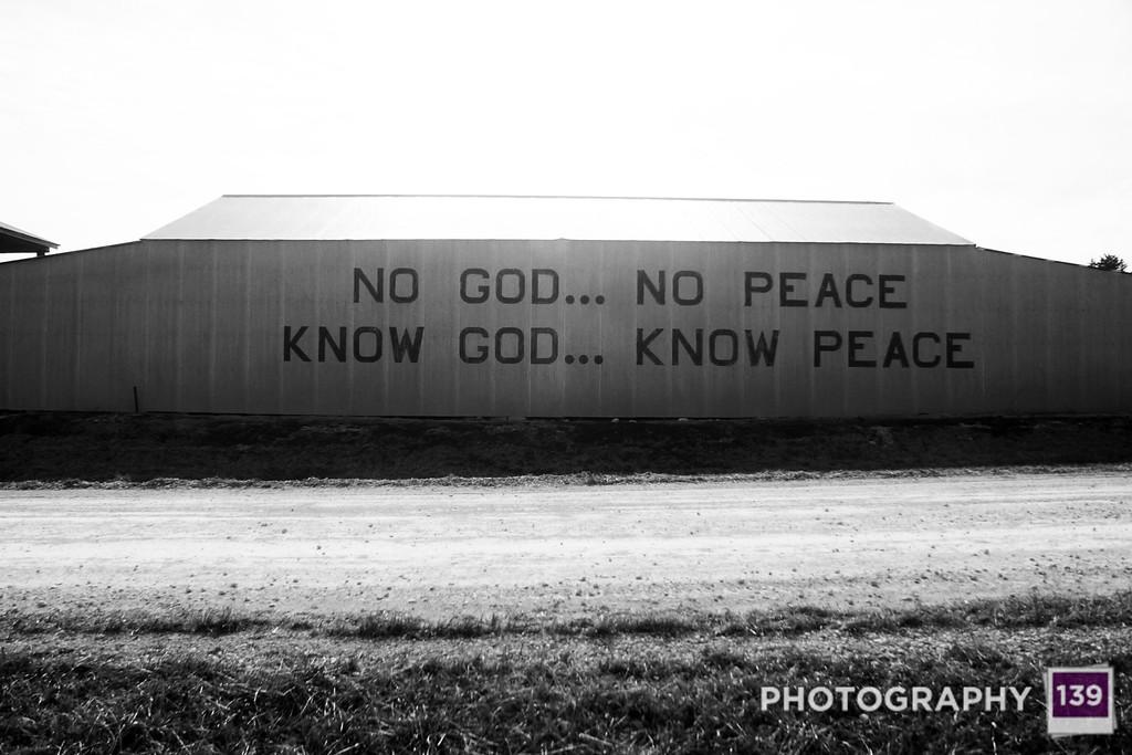 Know God... Know Peace